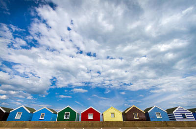 Photograph - Clouds And Sheds by Jenny Setchell