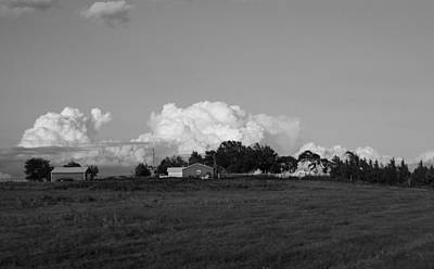 Photograph - Clouds Are Building by Nathan Hillis