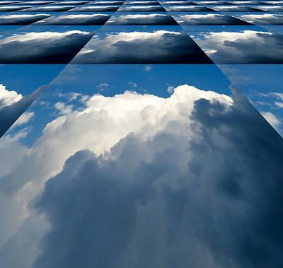 Clouds Ascending Art Print by Pete Trenholm