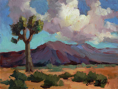 Painting - Clouds At Joshua by Diane McClary