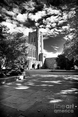 Courtyard Gallery Photograph - Clouds At Princeton by John Rizzuto