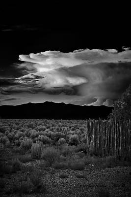 Photograph - Clouds At Sunset by Charles Muhle