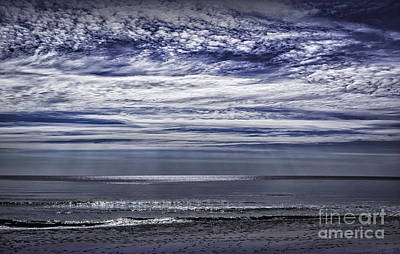 Photograph - Clouds At The Beach by Walt Foegelle