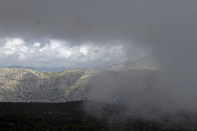 Photograph - Clouds At Top Of Cable Car by Tony Murtagh
