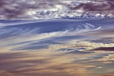 Photograph - Clouds by Bob Wall