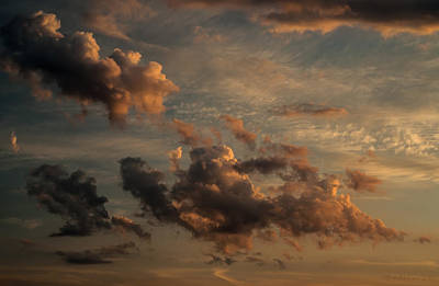 Clouds For Rembrandt Art Print