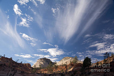 Photograph - Clouds by Fred Stearns