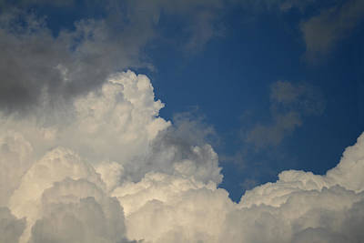 Photograph - Clouds I by Gene Berkenbile
