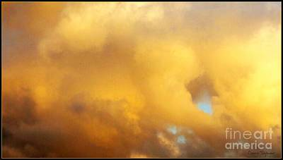Photograph - Clouds Illusions - Within Border by Leanne Seymour