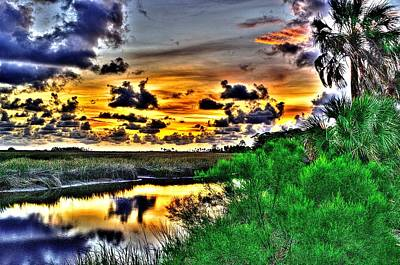 Photograph - Clouds In After Glow by Richard Zentner