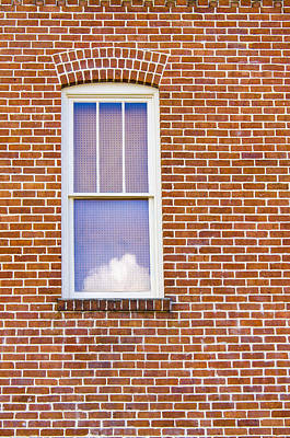 Photograph - Clouds In My Window by Carolyn Marshall