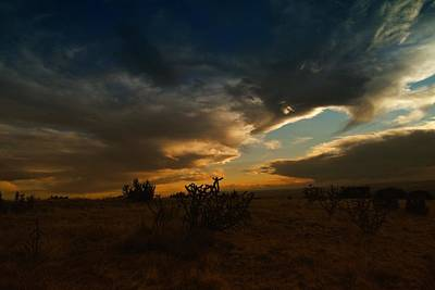 Clouds In New Mexico Art Print by Jeff Swan