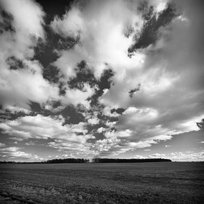 Clouds In The Heartland Art Print by Dick Wood
