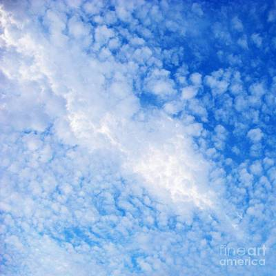 Photograph - Clouds Like Sheep's Wool by Darla Wood
