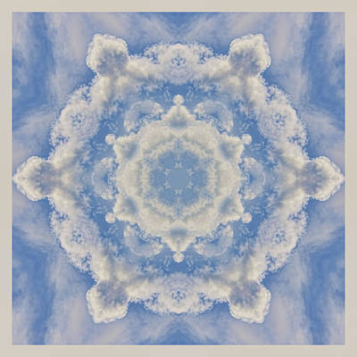 Photograph - Clouds Mandala by Beth Sawickie