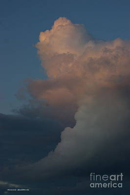 Photograph - Clouds Meeting by Tannis  Baldwin