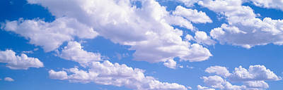 Clouds Moab Ut Usa Art Print by Panoramic Images