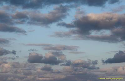 Photograph - Clouds by Nance Larson