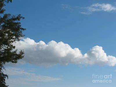 Clouds - Nuages - Ile De La Reunion - Reunion Island Art Print by Francoise Leandre
