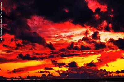 Photograph - Clouds Of Fire by Al Fritz