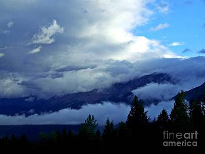 Photograph - Clouds On Top Of The World by Christian Mattison