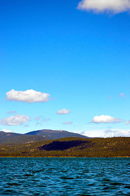 Photograph - Clouds Over A Lake  by Brent Dolliver