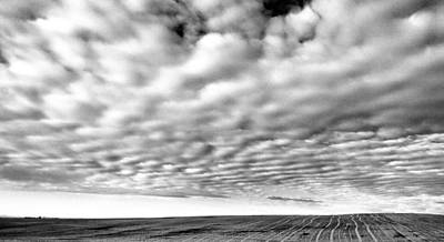 Curated Weekender Tote Bags - Clouds Over A North Dakota Field by Jeff Swan