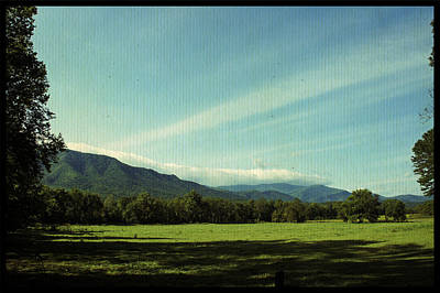 Photograph - Clouds Over Cades Cove by Laurie Perry