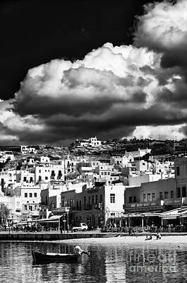 Photograph - Clouds Over Chora by John Rizzuto