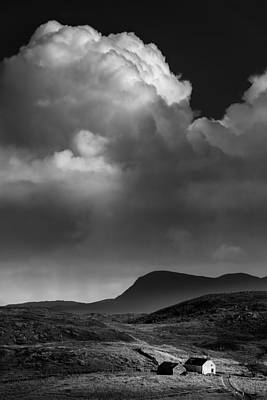 Clouds Over Clashnessie Art Print