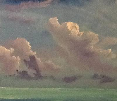 Painting - Clouds Over Duck Key by Patti Lane