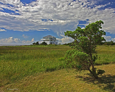 Clouds Over Hatteras Art Print