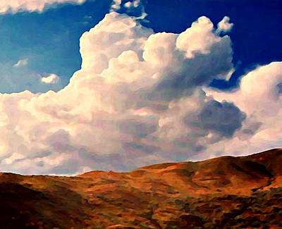 Photograph - Clouds Over Horizon by Stanley  Funk
