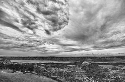 Photograph - Clouds Over Horsethief Canyon by Guy Whiteley