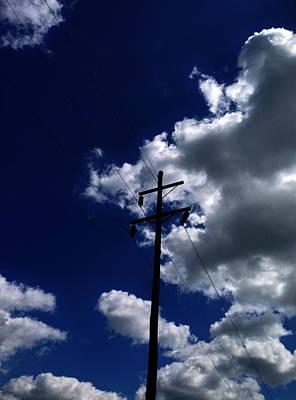 Clouds Over Jacksonville Il Art Print