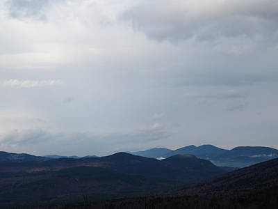 Photograph - Clouds Over Kancamagus by Mary Capriole