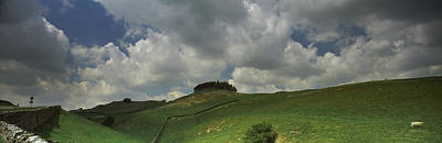 Clouds Over Kirkcarrion Copse Art Print by Panoramic Images