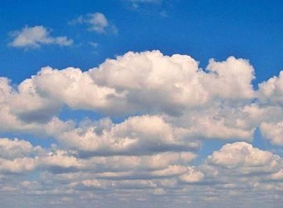 Clouds Over Lake Pontchartrain Art Print by Deborah Lacoste