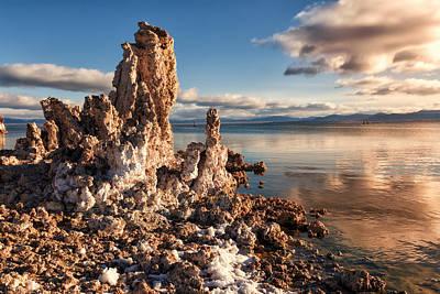 Kathleen Photograph - Clouds Over Mono Lake by Kathleen Bishop
