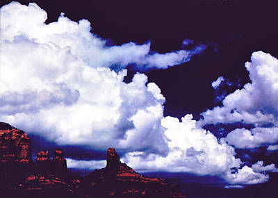 Claude Monet - Clouds Over Monument Valley by Glenn Aker