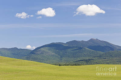 Photograph - Clouds Over Mount Mansfield by Alan L Graham