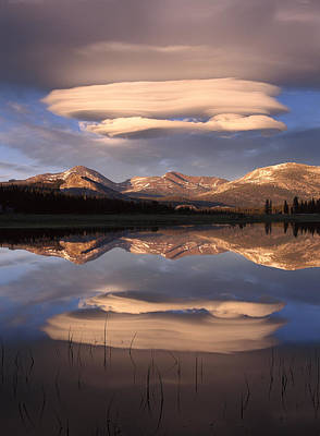 Photograph - Clouds Over Mt Dana by Tim Fitzharris