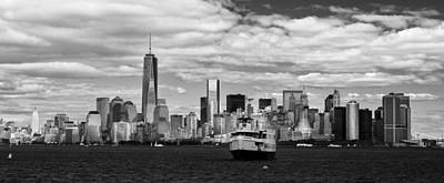 Photograph - Clouds Over New York by Jatinkumar Thakkar