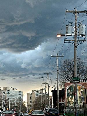 Clouds Over Philadelphia Art Print