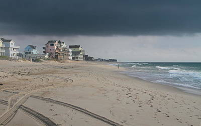 Clouds Over Rodanthe Art Print