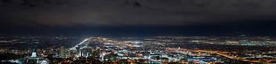 Photograph - Clouds Over Salt Lake City by Dustin  LeFevre