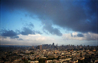 Clouds Over San Francisco Art Print by Eric Miller