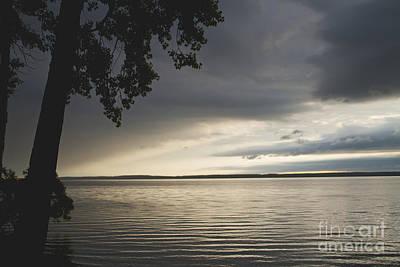 Photograph - Clouds Over Seneca Lake by William Norton