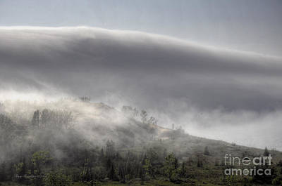 Clouds Over Sleeping Bear Dunes 1 Art Print