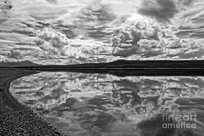 Photograph - Clouds Over Teslin Lake by Inge Riis McDonald